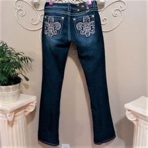 NEW + Gorgeous Miss Me Bootcut Jeans